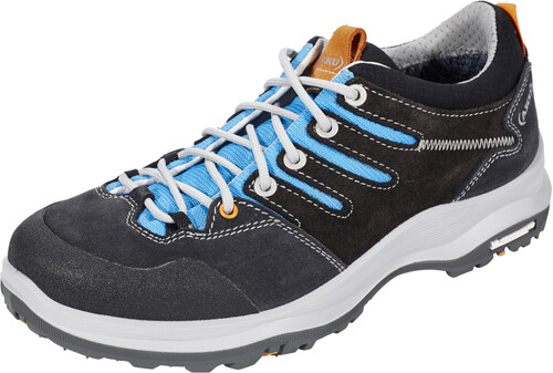 AKU Montera Low GTX Shoes Women Dark Grey/Light Blue Schuhgröße UK 6